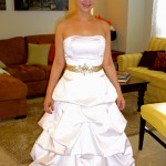 bustle wedding gowns