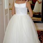 flower girl dress full tulle skirt flowergirl wedding dress alteration