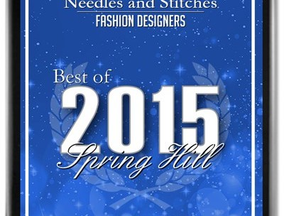 2015 best of spring hill business award fashion designer needles and stitches