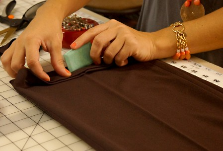 needles and stitches alterations pant hem tailors chalk behind the scenes